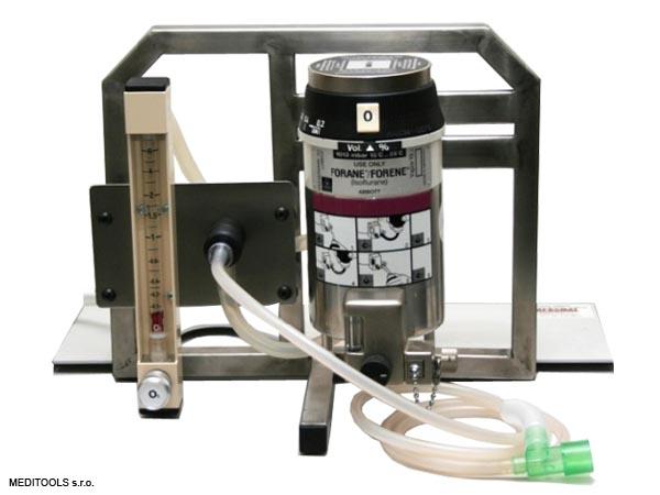 Vetnar mini s otevřeným systémem pro anestezii drobným a velmi malých zvířat